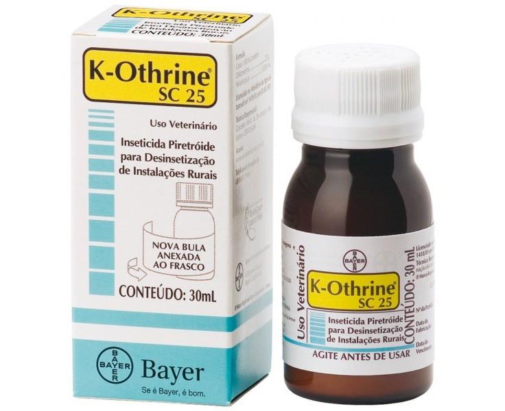 Inseticida K-Othrine SC 25 30ml Bayer