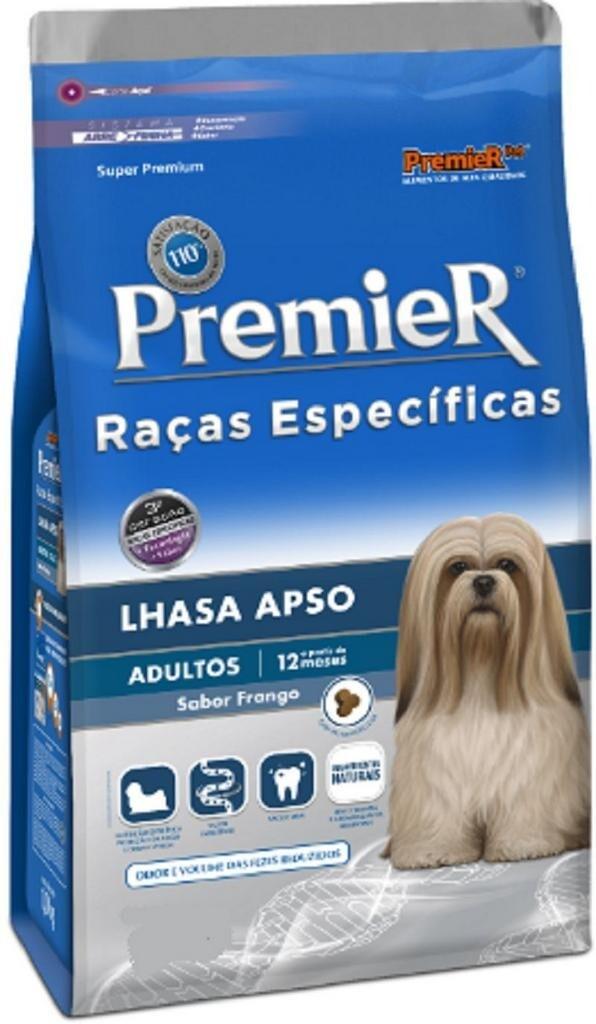 Ração Cães Premier Pet Raças Lhasa Apso Adulto 2,5kg