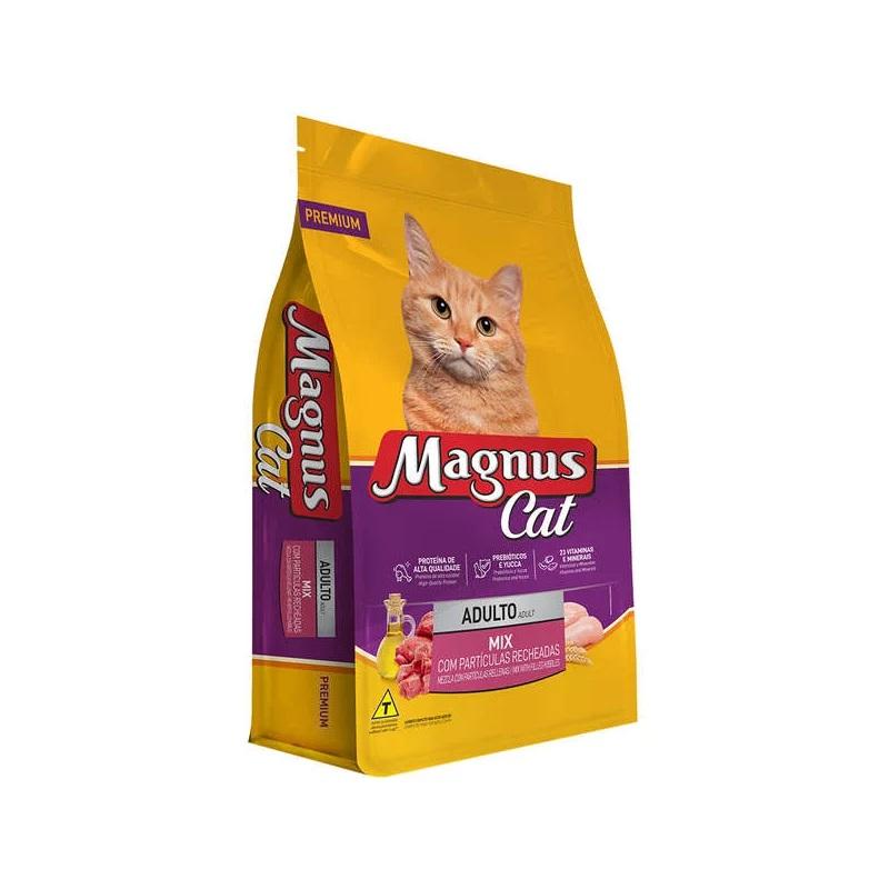 Magnus Cat - Ração para Gatos Só Recheados 15kg