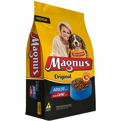 Magnus Original - Ração para Cães Adultos Carne 15Kg