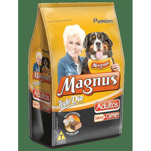 Ração Magnus Todo Dia Sabor Carne 1kg