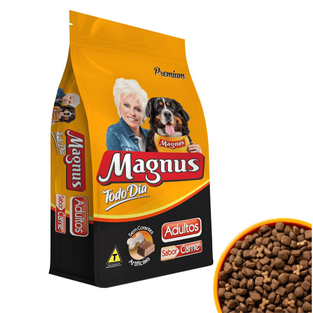 Magnus Todo Dia - Ração Cães Sabor Carne 1Kg