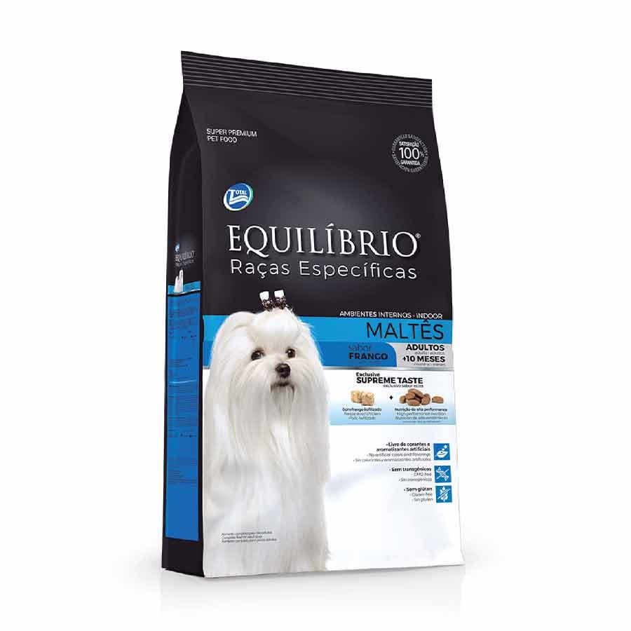 Ração Equilibrio Cães Raças Maltes Adulto Frango 2kg