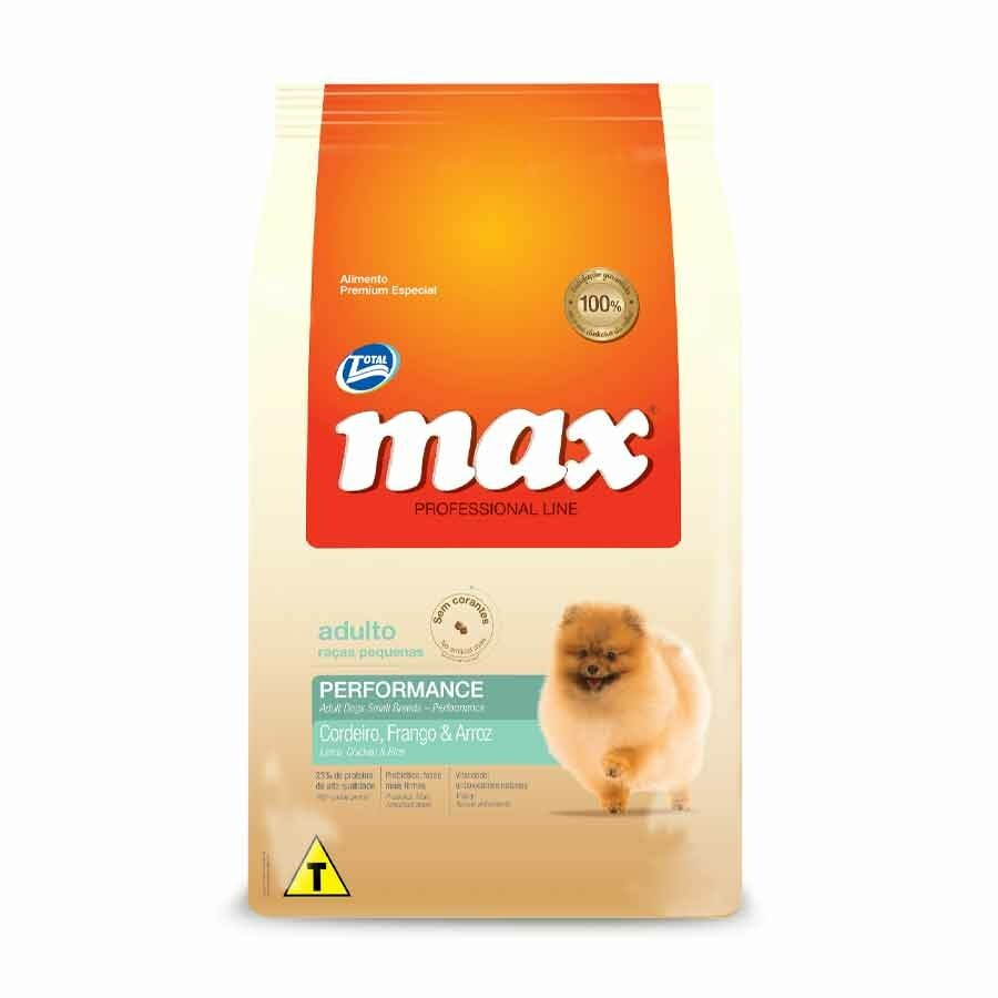 Ração Max Cães Frango Adultos Raças Peq. 2kg