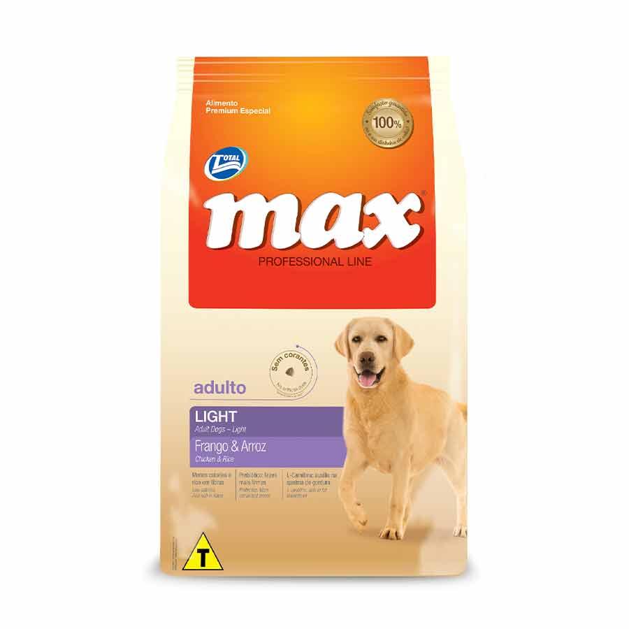 Ração Max Caes Light Frango Arroz 2kg