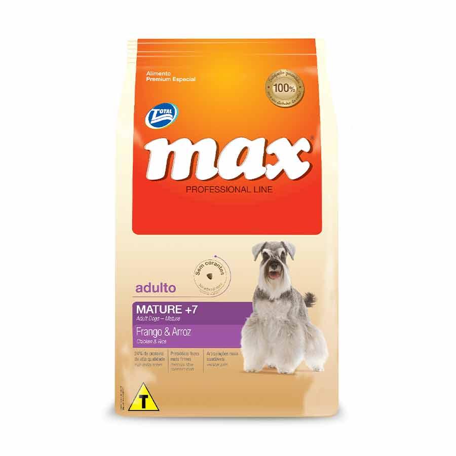 MAX CAES P.LINE MATURE 7+ FGO ARROZ 2KG