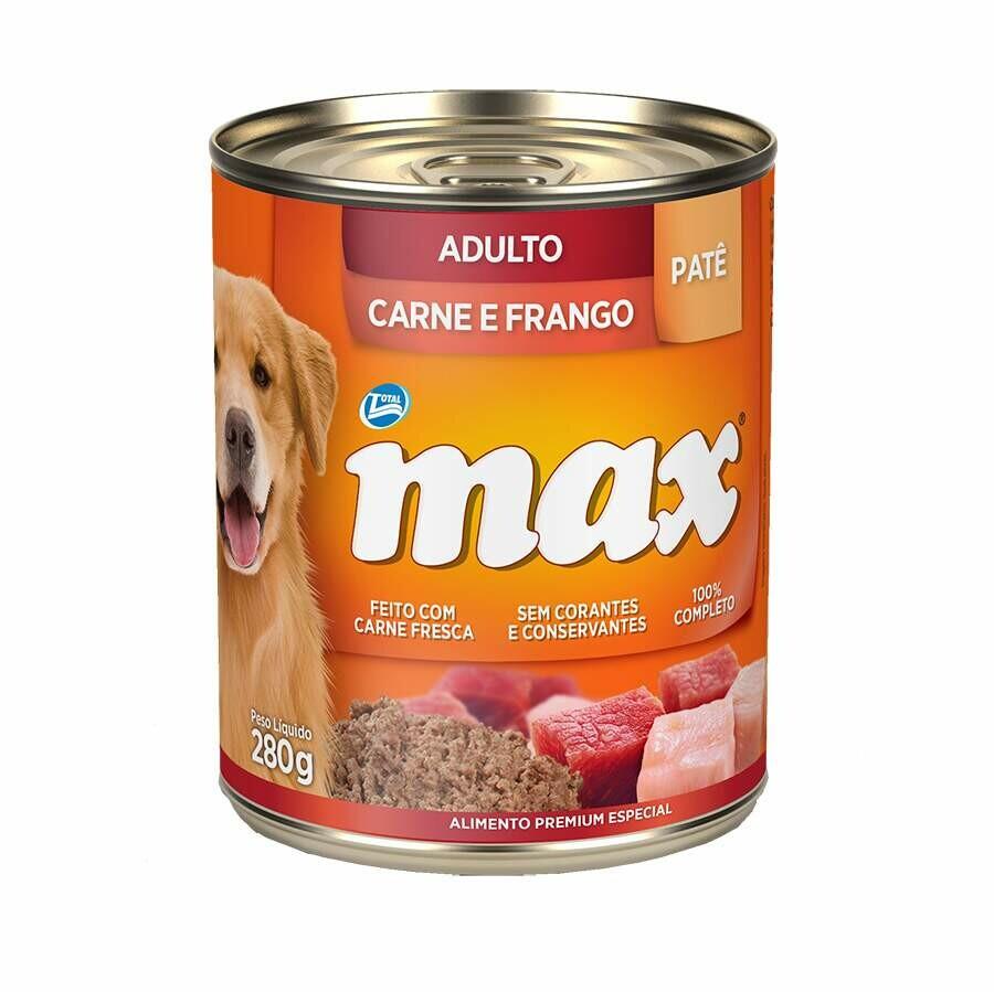 MAX CAES WET AD CARNE/FGO 280G