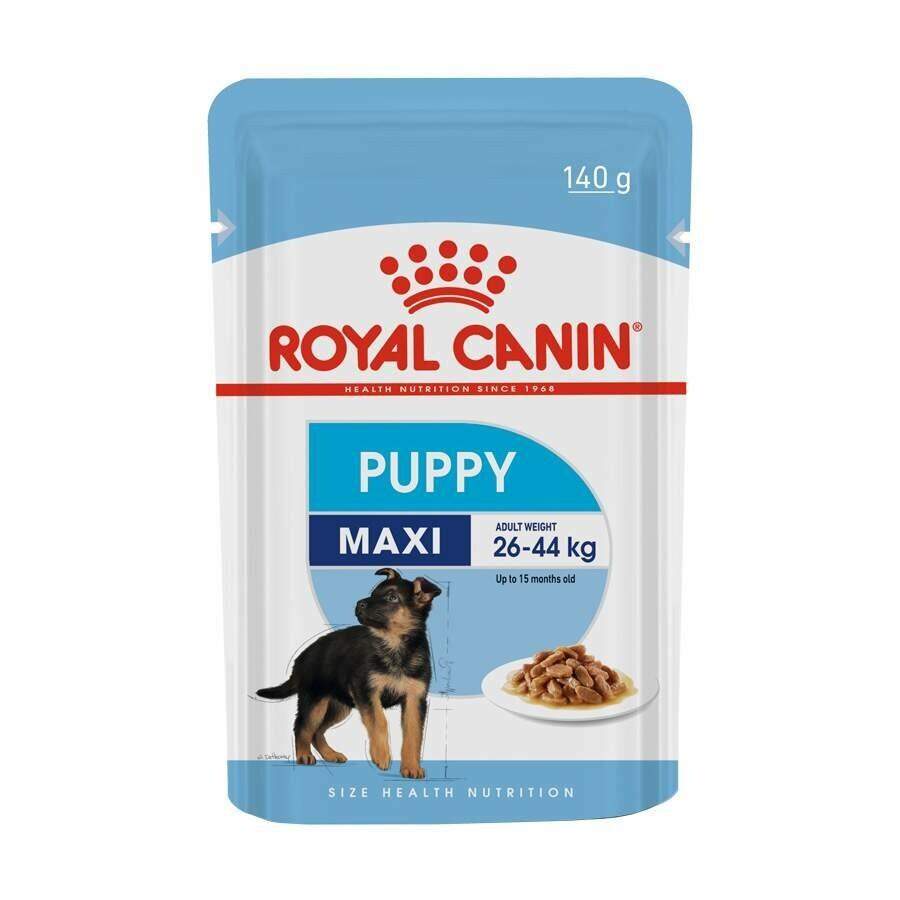 Ração Úmida Sache Royal Canin Maxi Puppy Adulto 140g