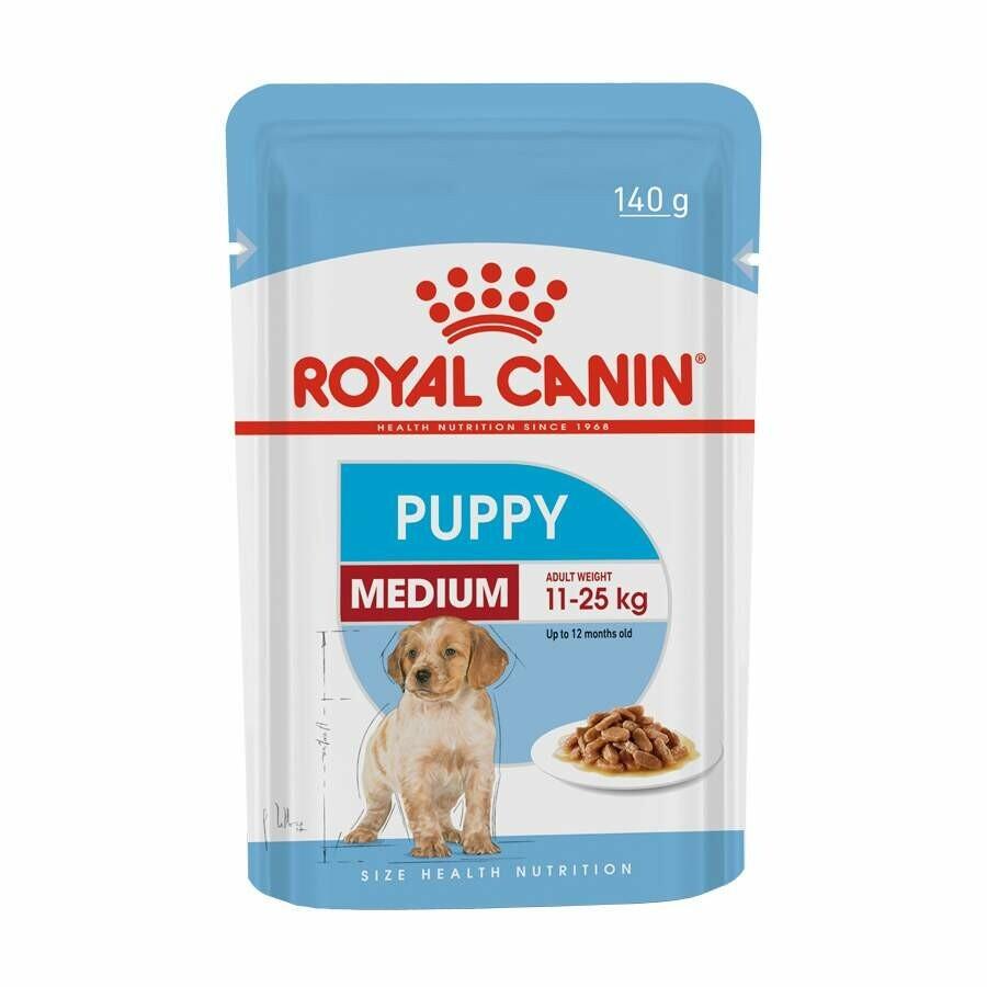 Ração Úmida Sache Royal Canin Medium Puppy Wet 140 G