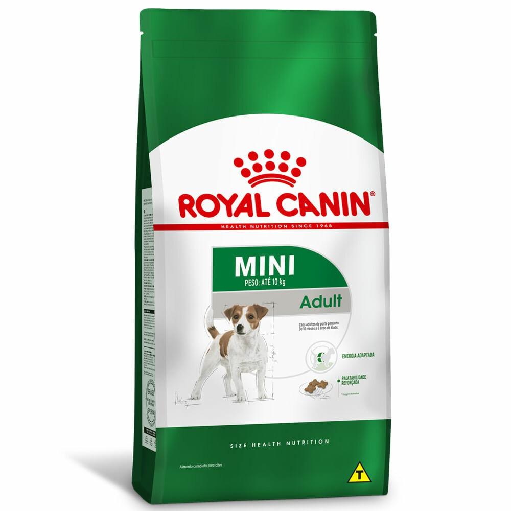 Ração Royal Canin Cães Adultos Mini 1kg