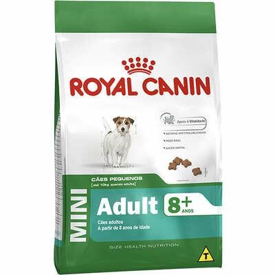 Ração Royal Canin Cães Mini Adultos 8+ 1kg