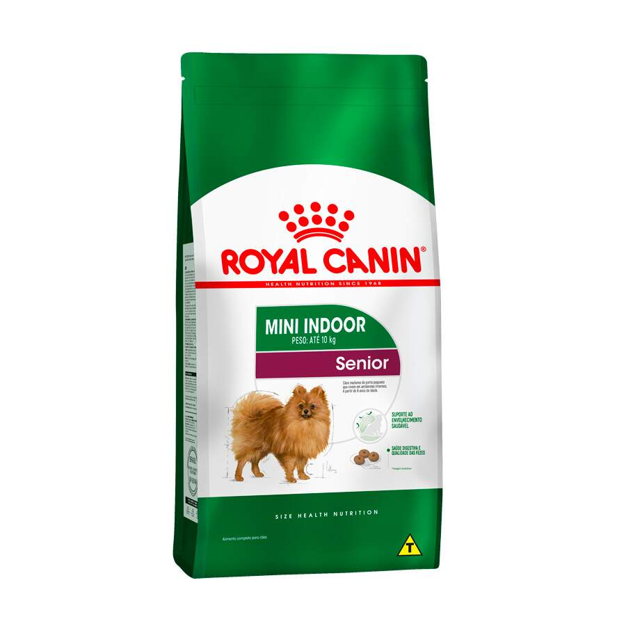 Ração Royal Canin Mini Indoor Adulto Senior 1kg