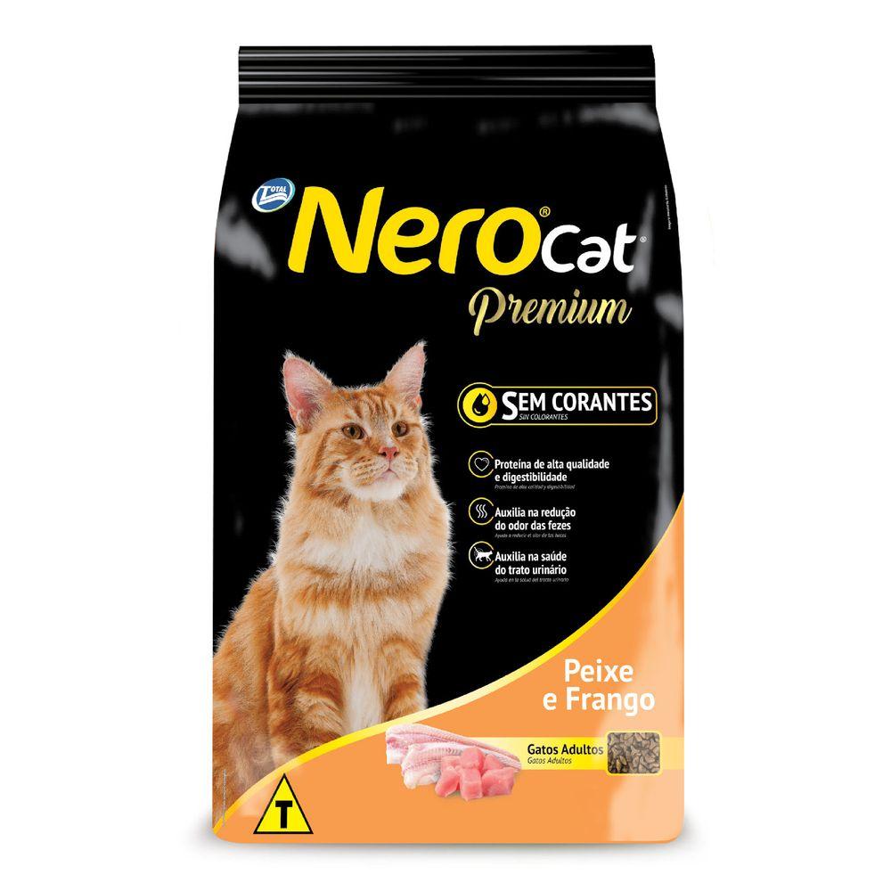 Ração Nero Cat Peixe E Frango 10Kg