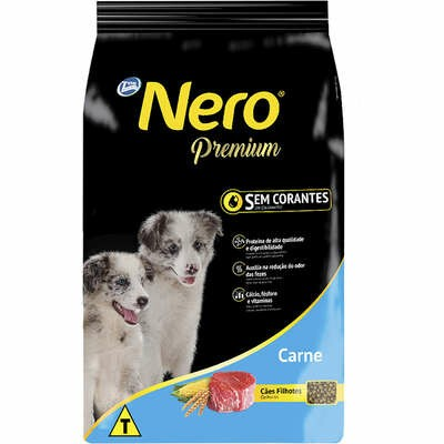 Ração Nero Premium Carne Filhote 15kg