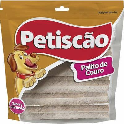 Pacote Petiscos Palito Couro MastigÁVel P/ CÃEs PetiscÃO 8mm 1kg