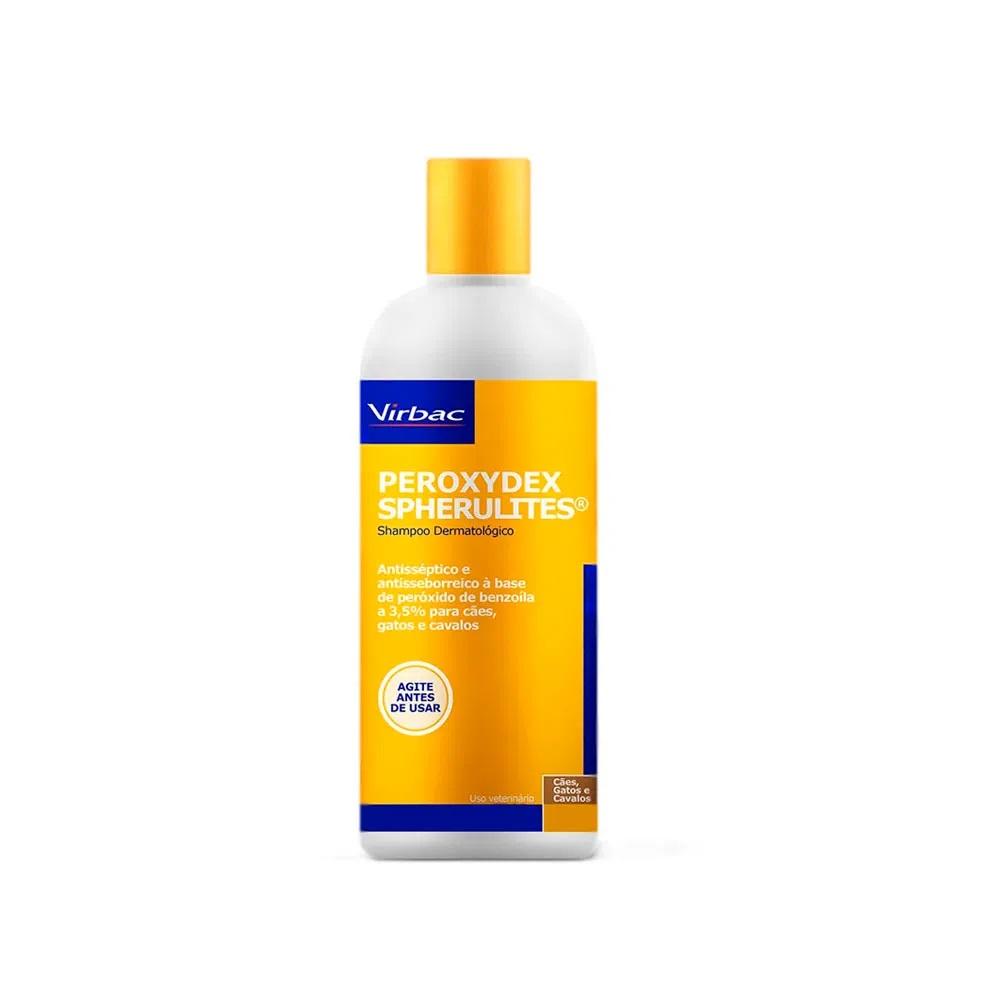 Peroxydex Spherulites 125ml - Shampoo Dermatológico Cães Gatos Cavalos