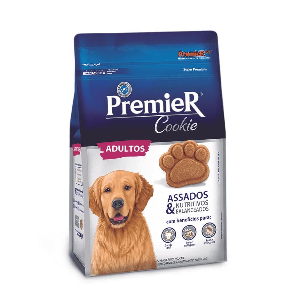 Premier Pet Cookie - Biscoito Cães Adultos Raças Pequenas Frutas 250g
