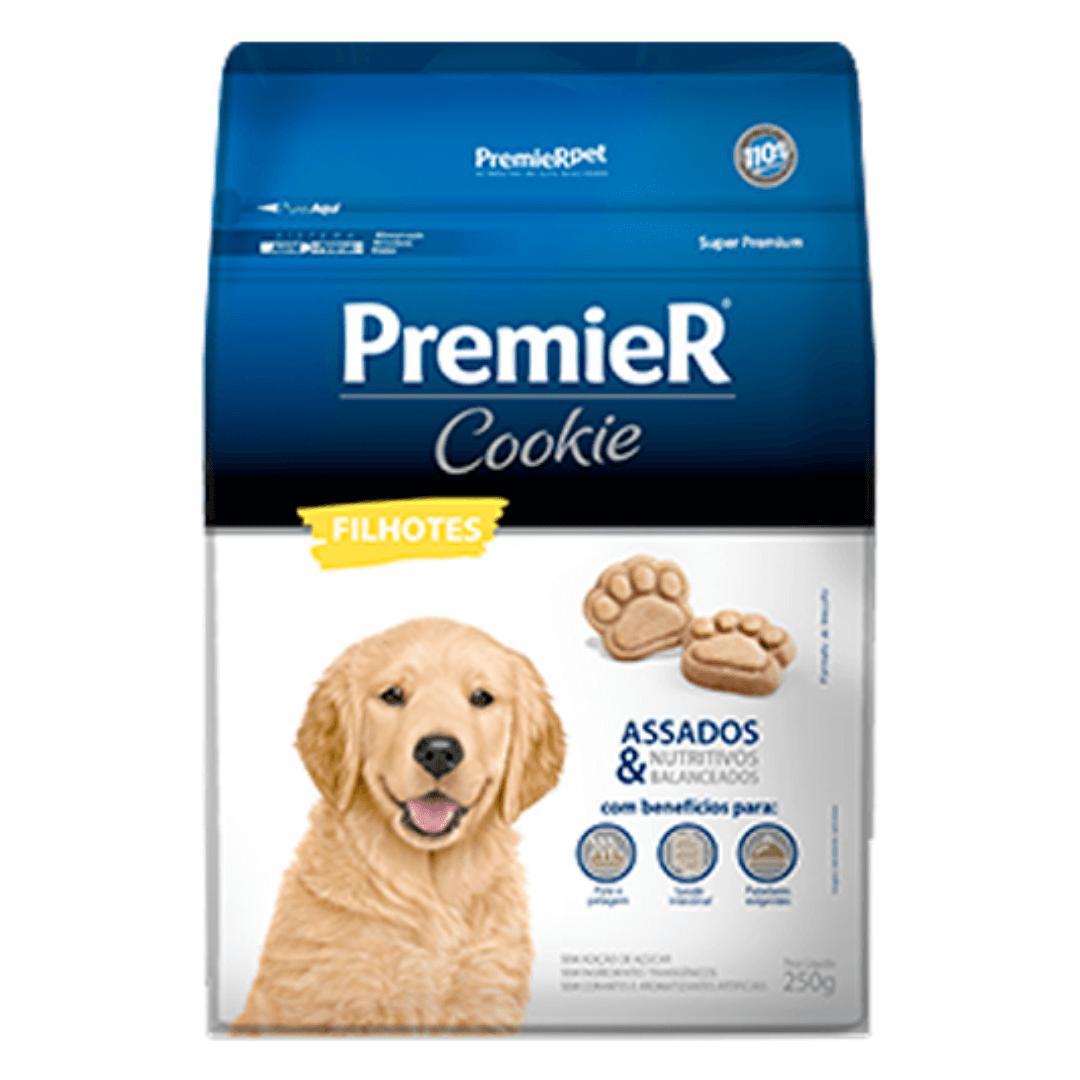 Premier Pet Cookie - Biscoito Cães Filhotes 250g