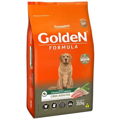 Premier Pet Golden - Ração Cães Adultos Frango 15Kg