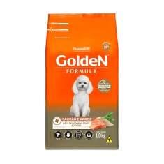 Premier Pet Golden - Ração Cães Adultos Mini Salmão 1Kg