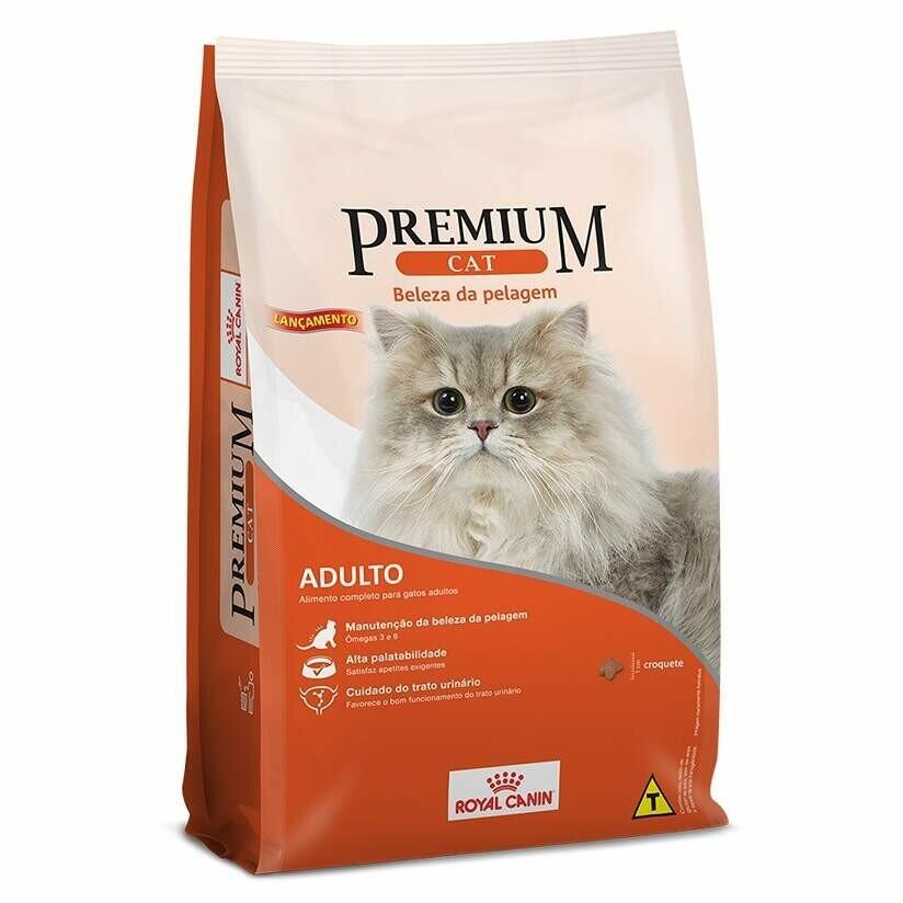 Ração Royal Canin Premium Cat Beleza Da Pelagem 10,1kg