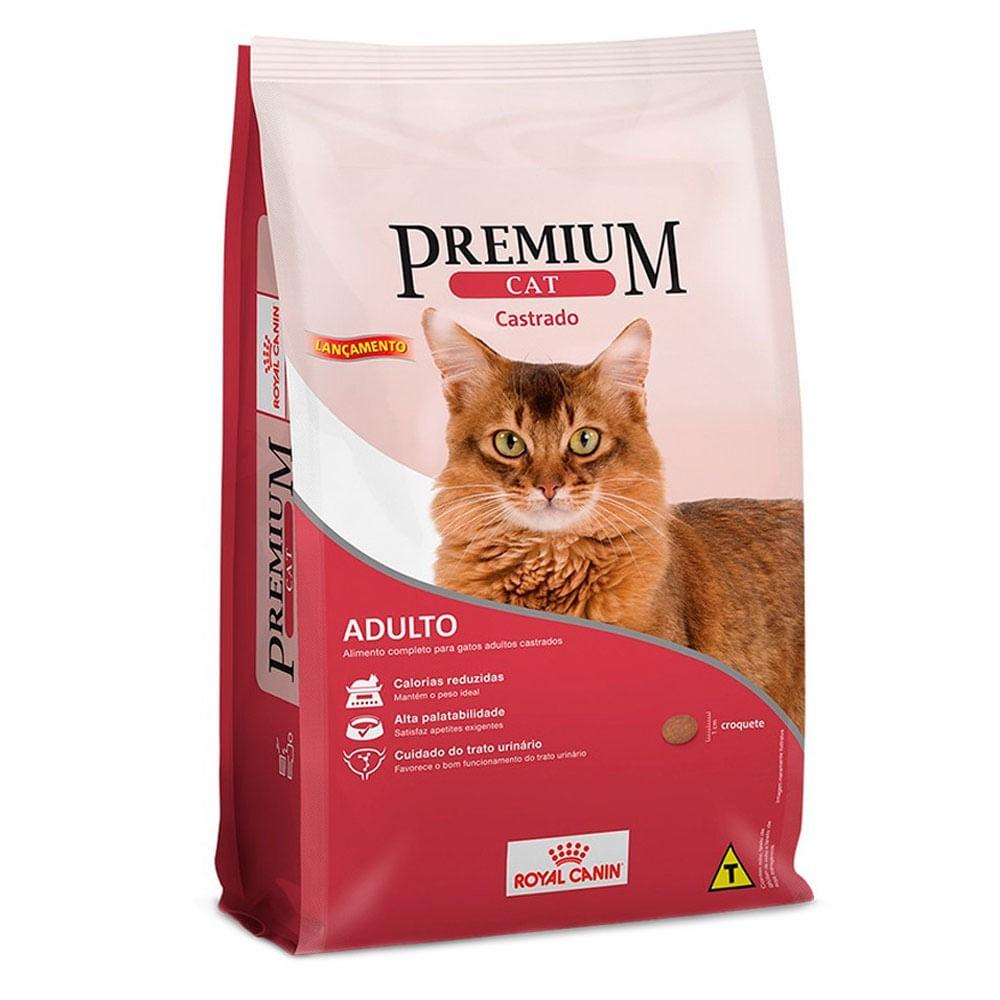 Ração Seca Royal Canin Premium Cat Castrado 10,1kg