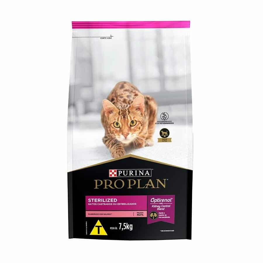 Ração Purina Pro Plan Gato Castrado 7,5kg