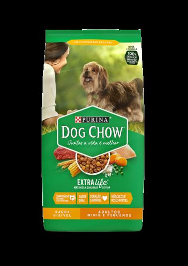 Purina Dog Chow - Ração Cães Adultos Raças Mini e Pequenas 1 Kg