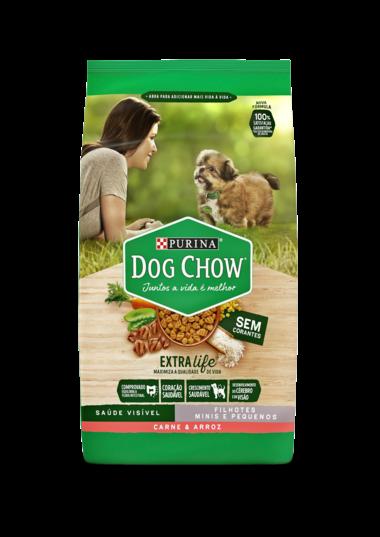 Purina Dog Chow - Ração Cães Filhotes Carne Raças Pequenas 1 Kg