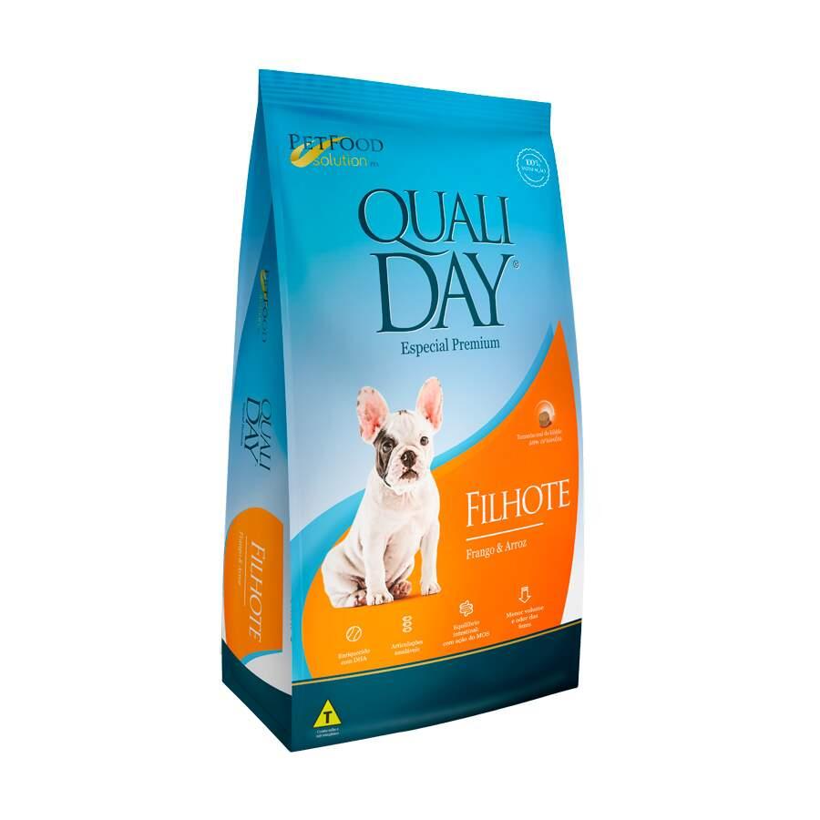 Ração Qualiday Cães Filhote Premium 3kg