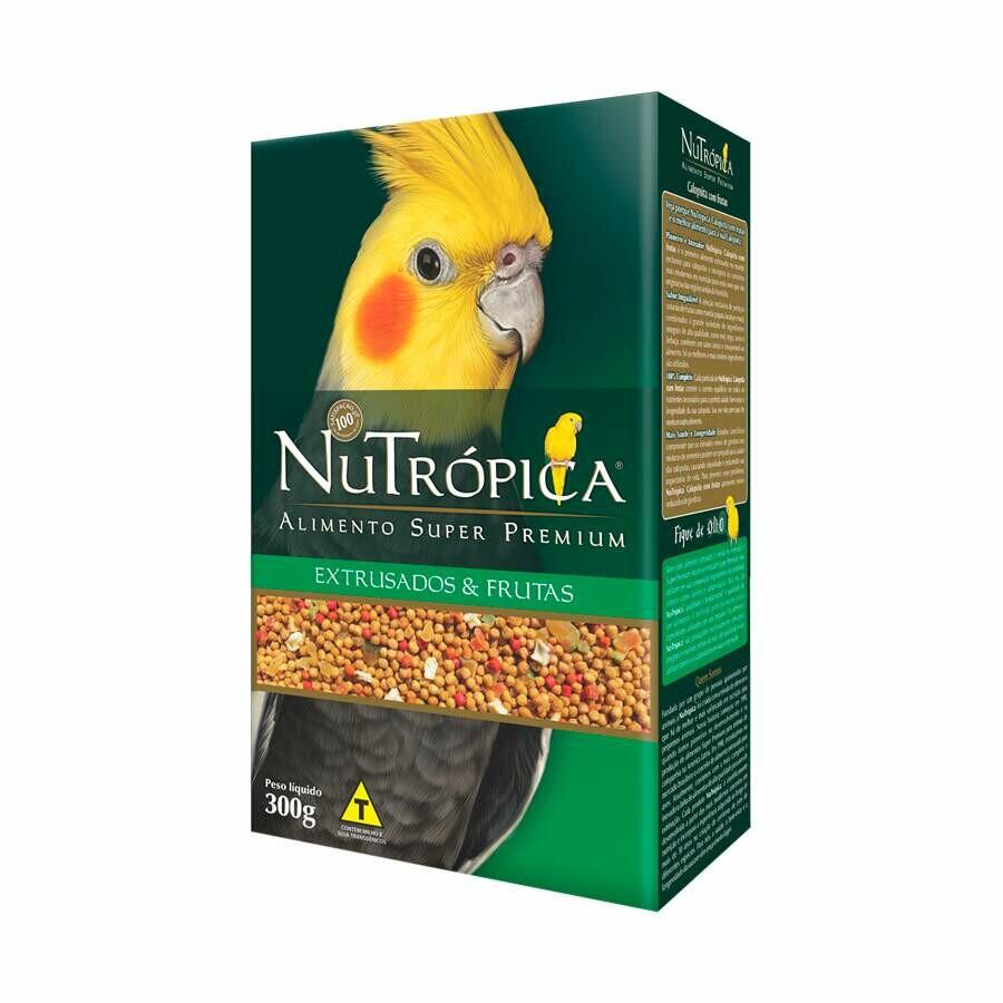 Ração Calopsita Nutrópica com Frutas 300g