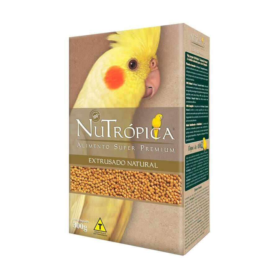 Ração Calopsita Nutrópica Natural 300g