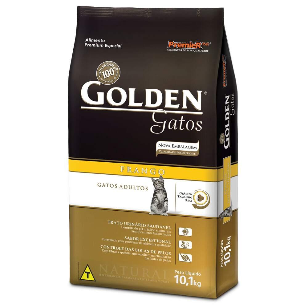 Ração Golden Gatos Adultos Frango 1 Kg
