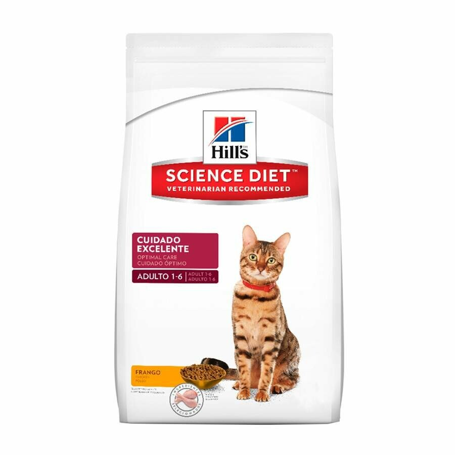Ração Hills Science Diet Manutenção Saudável  Gatos Adultos 1,5Kg