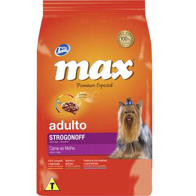 Ração Max Cães Adultos Strogonoff 20Kg