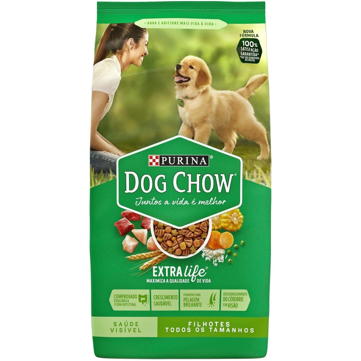 Ração Purina Dog Chow Adultos Raças Pequenas 1kg