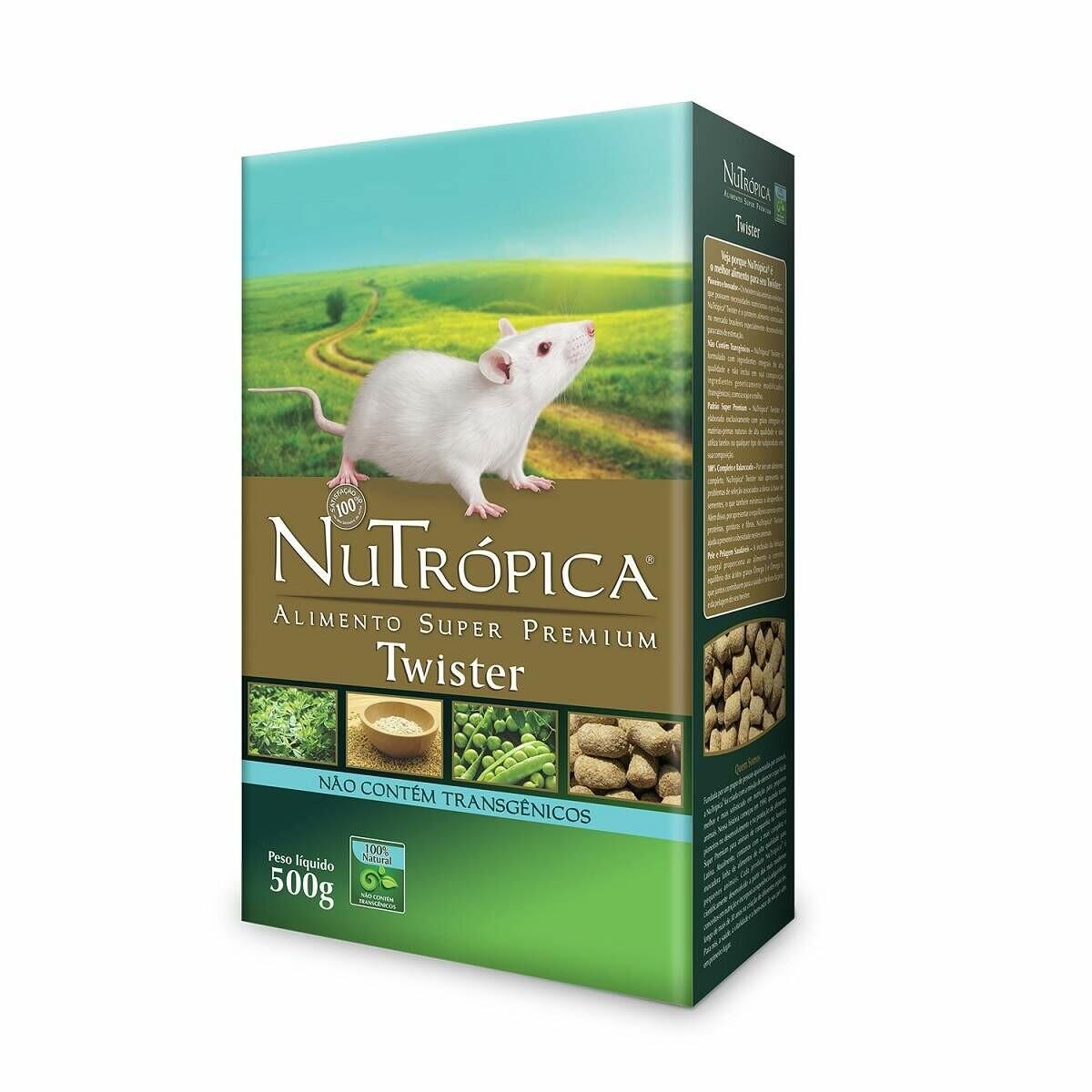Ração para Ratos Twister Nutrópica 500g