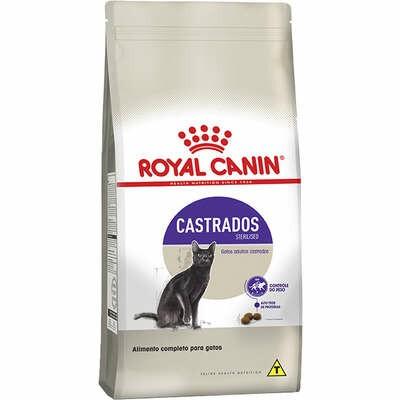 Ração Royal Canin Gatos Adultos Castrados 10,1Kg