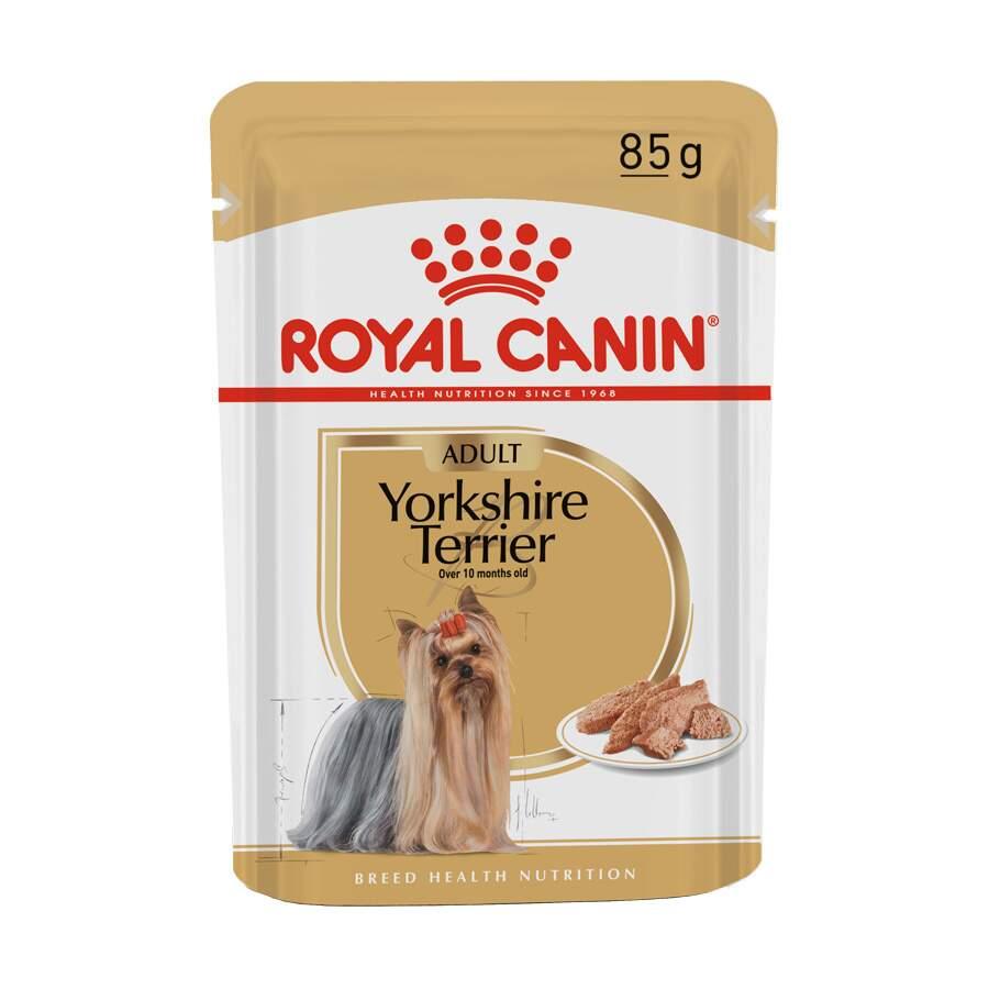Ração Úmida Sache Royal Canin Yorkshire Terrier Saúde do Pelo 85g