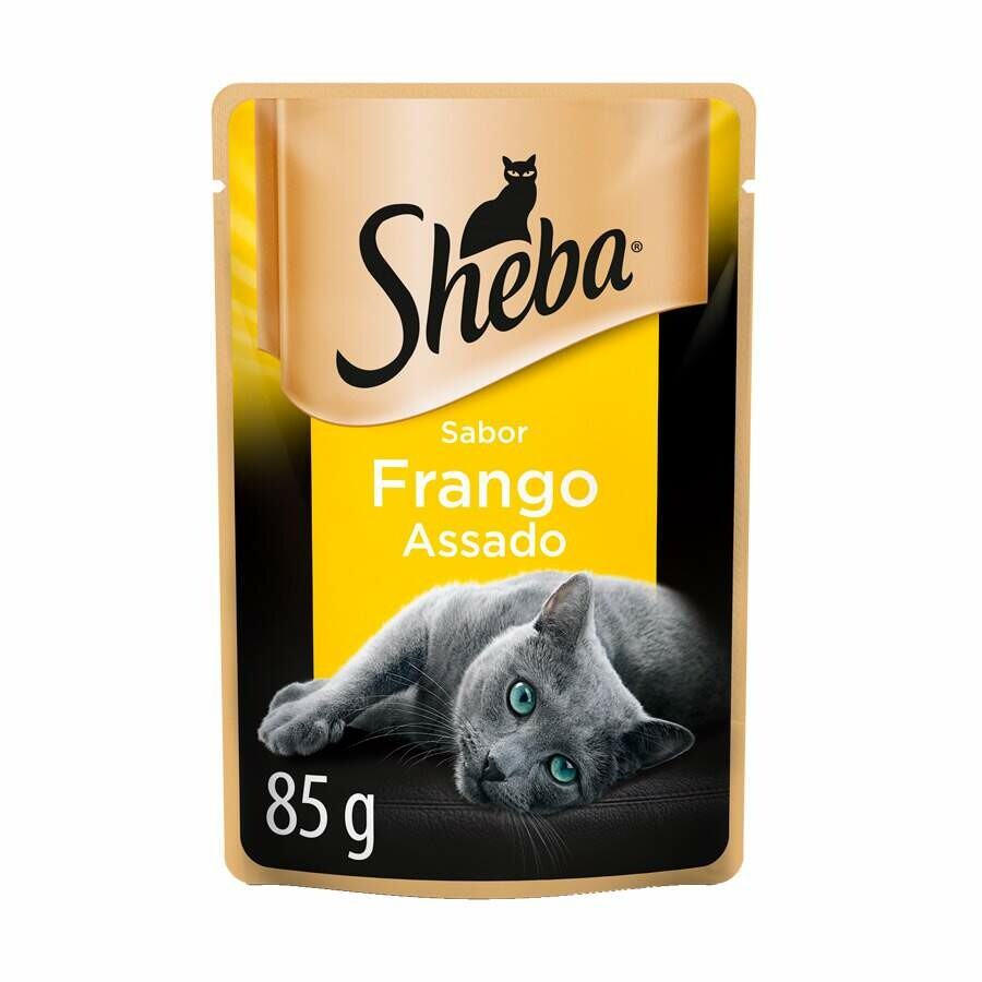 Ração Úmida Sachê Gatos Adultos Frango - 85g
