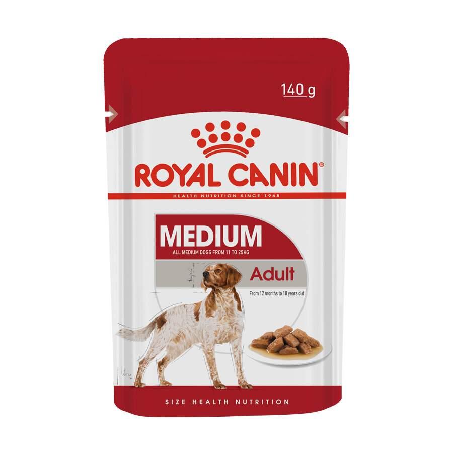 Ração Úmida Sache Cães Adultos Raças Médias 140g Royal Canin