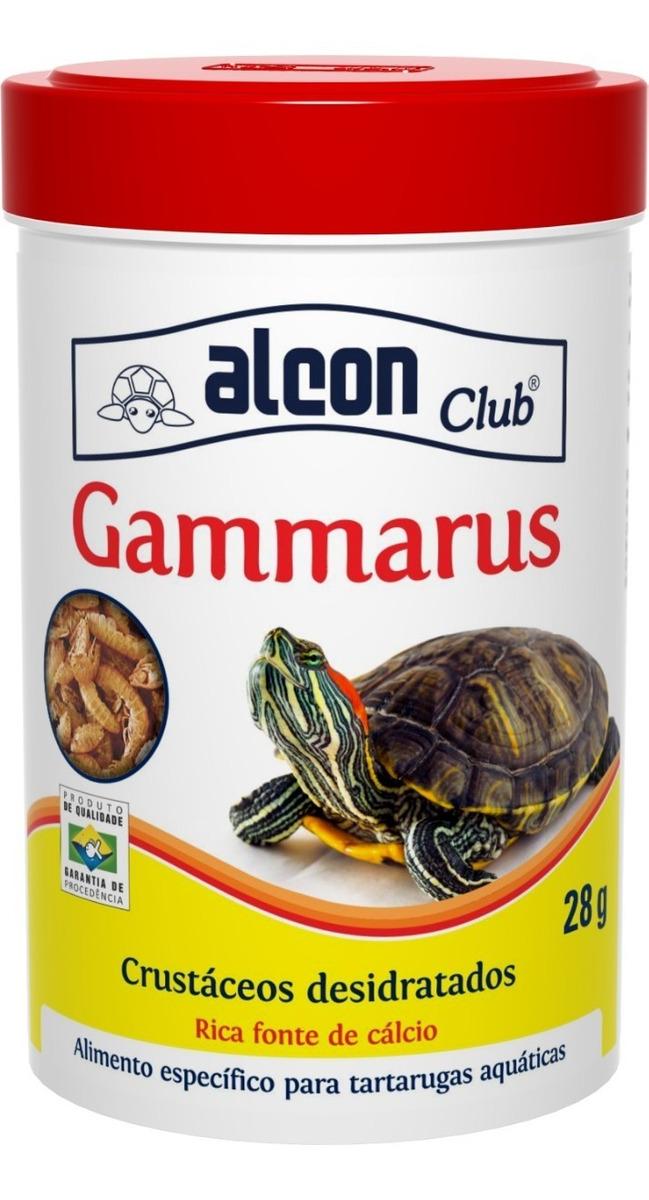 RaÇÃO Completa Tartaruga Gammarus Alcon Club 28g
