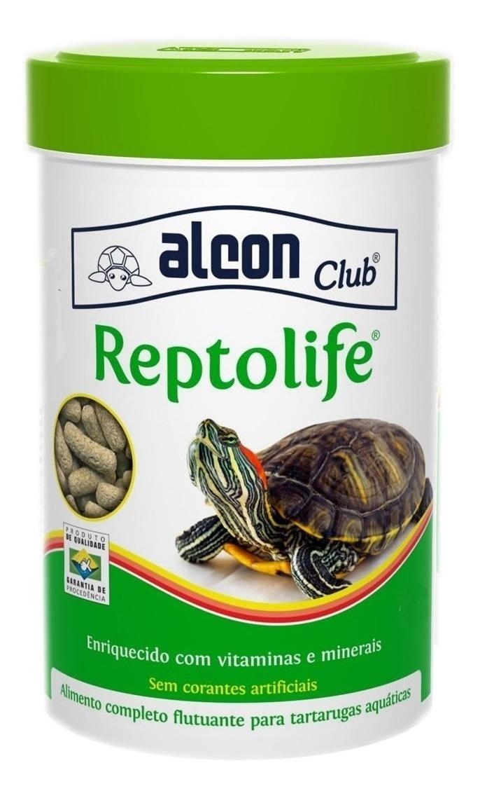 Ração Jabuti Alcon Club Repteis Maça Cenoura Alfafa 300g