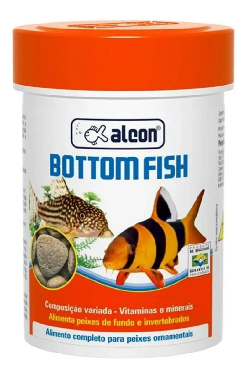 RaÇÃO Para Peixes De Fundo Alcon Bottom Fish 30g