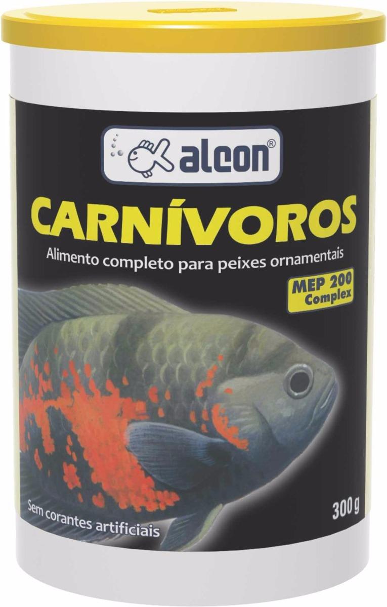 Ração Peixe Carnívoros Ornametais Alcon 300g