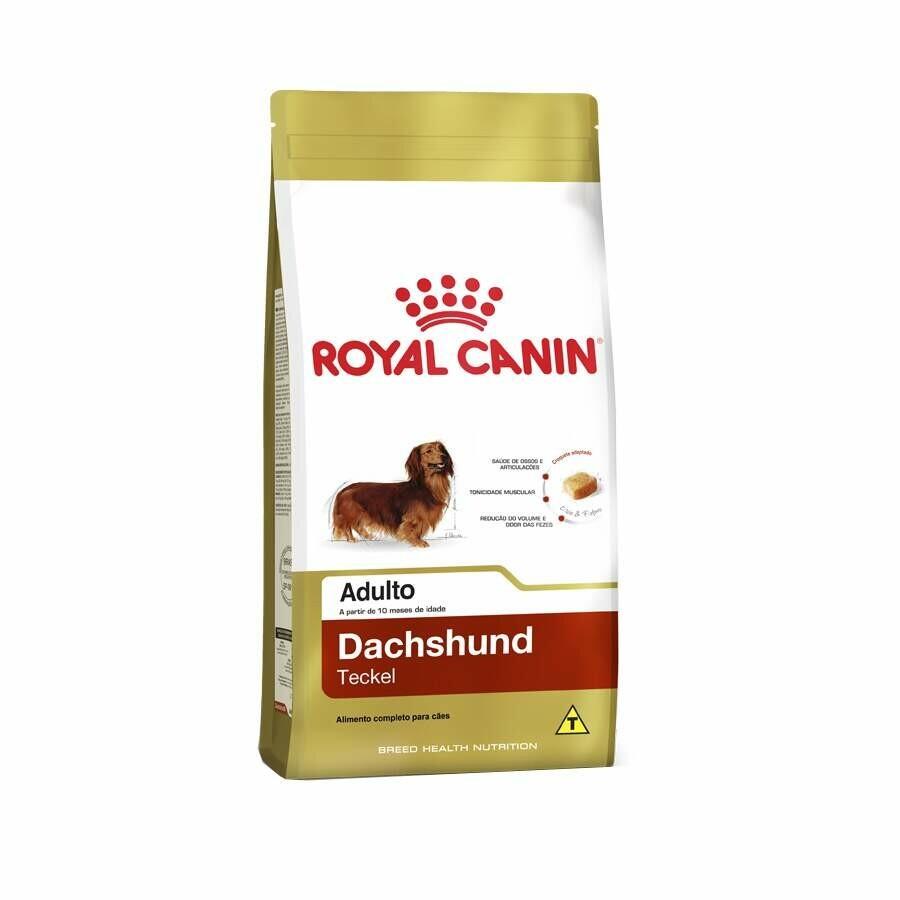 Ração Royal Canin Cães Adultos Raça Salsicha 7,5kg