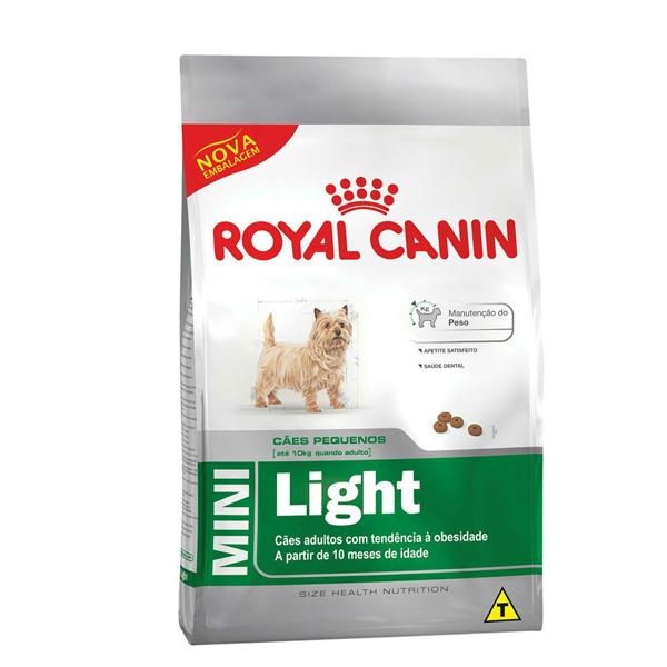 Ração Royal Canin Mini Light Cães Pequenos Obesidade 2,5kg