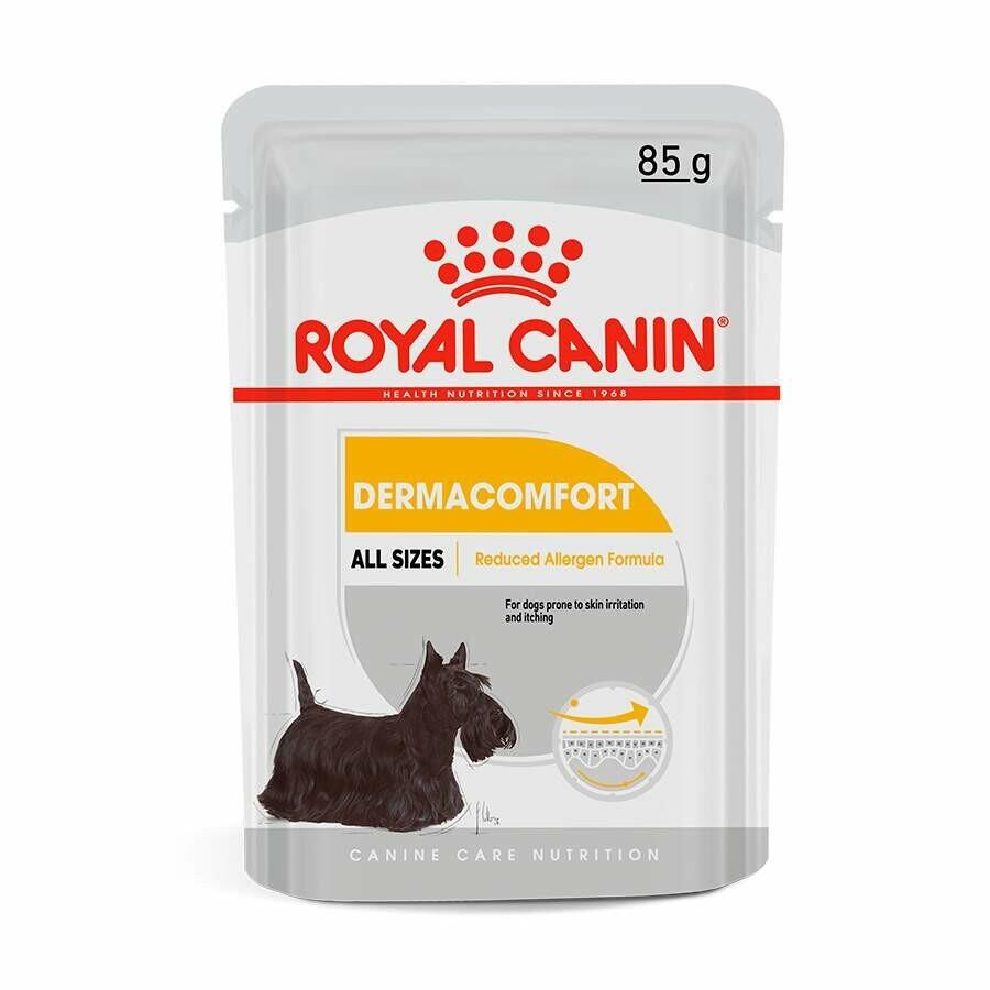 Ração Úmida Royal Sache Dermacomfort Wet 85g