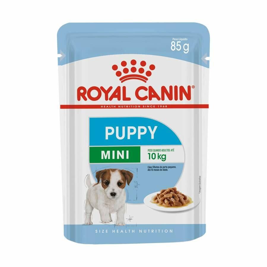 Ração Úmida Sache Royal Canin Mini Puppy Wet 85g