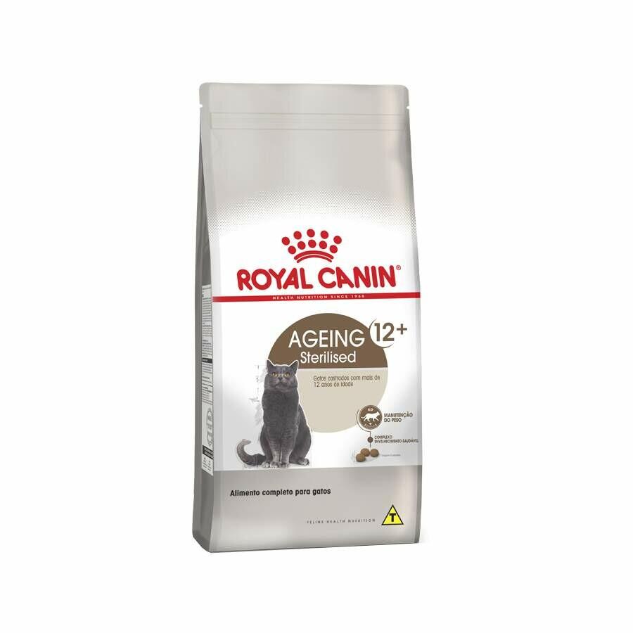 Ração Seca Royal Canin Gatos Castrados 12+ 1,5kg
